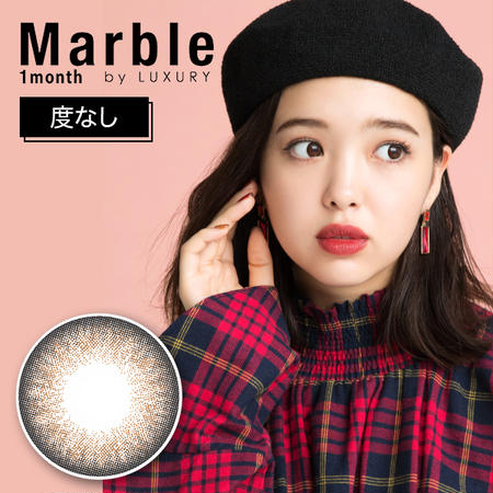 Marble by LUXURY 1month(度なし) アプリコットタルト