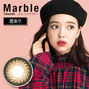Marble by LUXURY 1month(度あり) ハニーマカロン