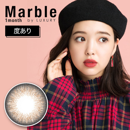 Marble by LUXURY 1month(度あり) アプリコットタルト